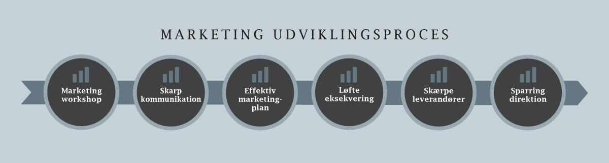 Lars Halskov - marketing udviklingsproces - marketing workshop, skarp kommunikation, effektiv marketingplan, løfte eksekvering, skærpe leverandører, sparring direktion